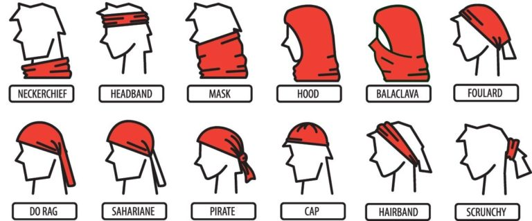 The many ways to wear your Buff