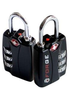 Two luggage locks