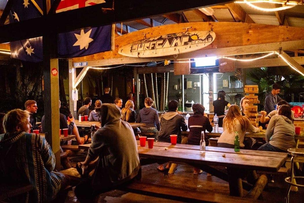 Surf Camp hangout area